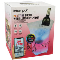 Party Ice Bucket with Bluetooth Speaker