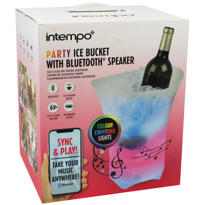 Party Ice Bucket with Bluetooth Speaker image number 1