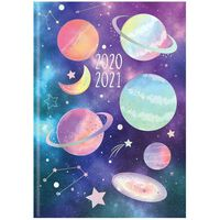 A5 Constellations Week to View 2020-21 Academic Diary