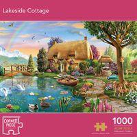 Lakeside Cottage 1000 Piece Jigsaw Puzzle