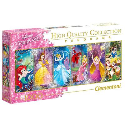 Disney Princess Panorama 1000 Piece Jigsaw Puzzle image number 1