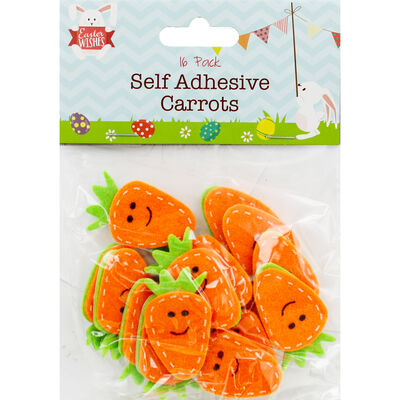 Self Adhesive Carrots - 16 Pack image number 1