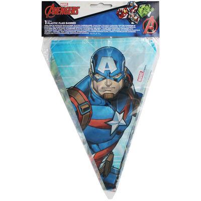 Marvel Avengers Plastic Flag Banner image number 1