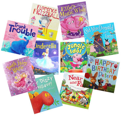 Cute Tales - 10 Kids Picture Books Bundle image number 1