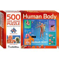 Human Body 500 Piece Jigsaw Puzzle