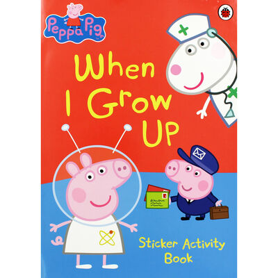 Peppa Pig: When I Grow Up Sticker Activity Book image number 1