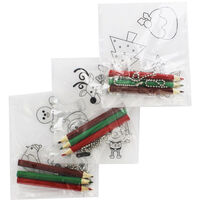 Christmas Characters Shrink Art Set - 3 Pack
