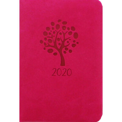 Pink Tree 2020 Pocket Week to View Diary image number 1