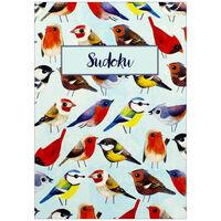 Baby Blue Bird Sudoku Book