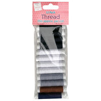 Natural Thread: Pack of 12