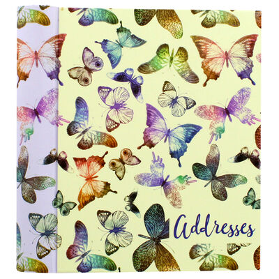 Butterflies Telephone And Address Book image number 1