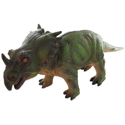 Soft Stuffed Styracosaurus Figure image number 1