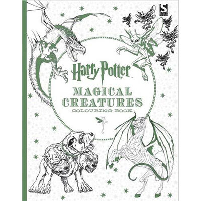 Harry Potter Magical Creatures Colouring Book image number 1