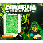 Camouflage Den and Face Paint Set image number 4