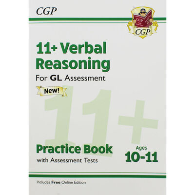 CGP 11+ Verbal Reasoning: Practice Book with Assessment Tests image number 1