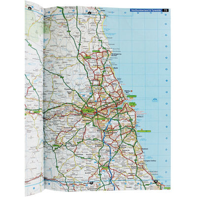 AA: Large Scale Road Atlas Britain 2020 image number 3