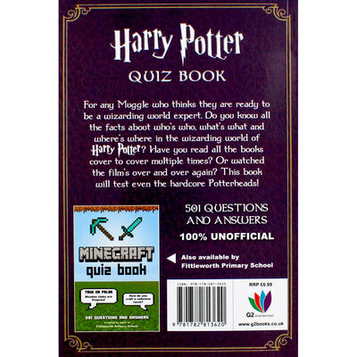 Harry Potter Quiz Book image number 3