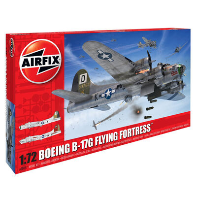 Airfix 1-72 Boeing B-17G Flying Fortress Model Kit image number 1