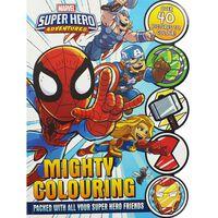 Marvel Super Hero Adventures: Mighty Colouring