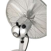 Beldray Adjustable Floor Standing 16 Inch Chrome Fan