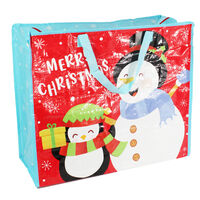 Jumbo Christmas Shopping Bag - Assorted