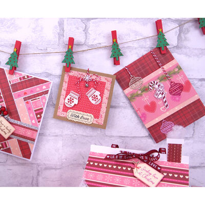 Cosy Christmas Paper Pad - 12x12 Inch image number 2