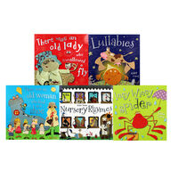 Classic Nursery Rhymes: 10 Kids Picture Books Bundle