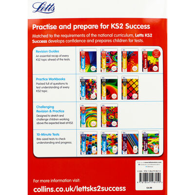 Letts KS2 Success Challenging English: Ages 10-11 image number 3