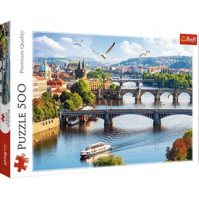 Prague Czech Republic 500 Piece Jigsaw Puzzle image number 1