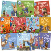 The Adventures of Peter Rabbit: 10 Kids Picture Books Bundle