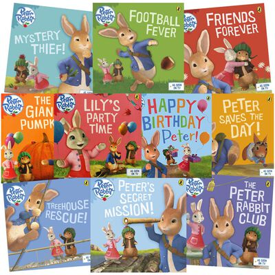 The Adventures of Peter Rabbit: 10 Kids Picture Books Bundle image number 1