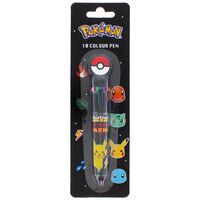 Pokemon Retro 10 Colour Ball Pen