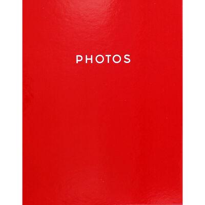 Red 7x5 Photo Album image number 2