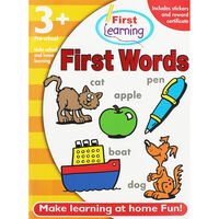 First Learning Workbook: First Words