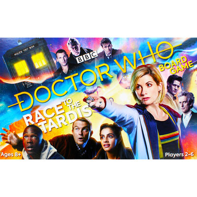 Doctor Who Race to the Tardis Board Game image number 2