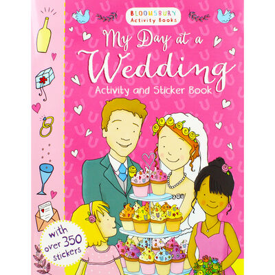 My Day At A Wedding Activity and Sticker Book image number 1