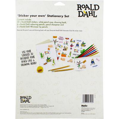 Roald Dahl Sticker Your Own Stationery Set image number 3