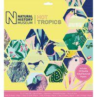 Hot Tropics Paper Pad 12x12 Inch