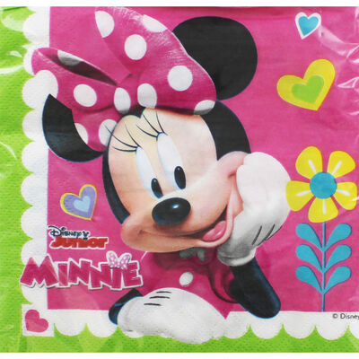 Minnie Mouse Paper Napkins - 20 Pack image number 1