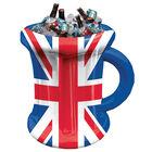 Union Jack Inflatable Beer Mug Ice Cooler image number 2