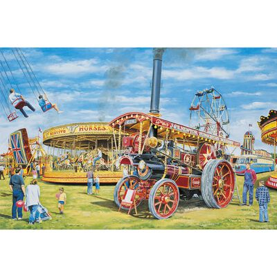 JCP FairgroundFun1000pc Jigsaw image number 2