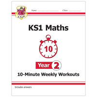 KS1 Maths 10-Minute Weekly Workouts: Year 2