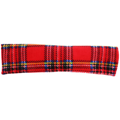 Red Tartan Lavender Microwaveable Heat Wrap image number 2