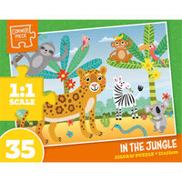 Assorted 35 Piece Jigsaw Puzzle
