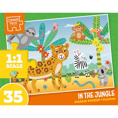 Assorted 35 Piece Jigsaw Puzzle image number 2