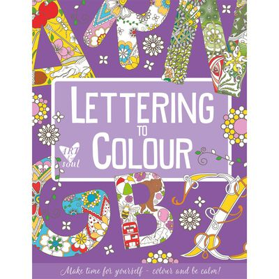 Lettering to Colour: A-Z image number 1