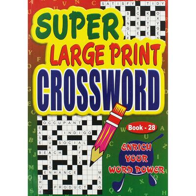 Super Large Print Crossword - Assorted image number 1