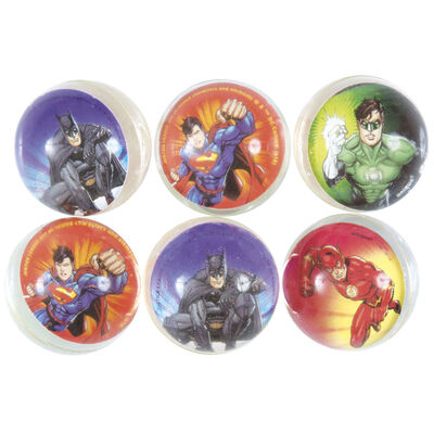 Justice League Bounce Balls - 6 Pack image number 2