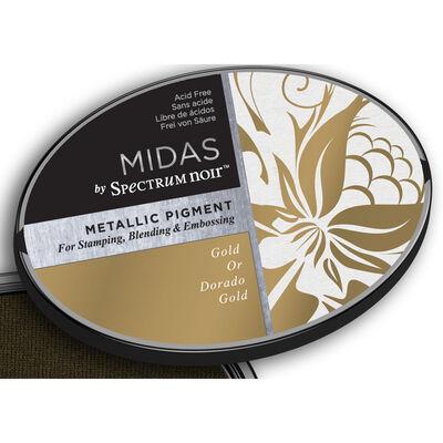Midas by Spectrum Noir Metallic Pigment Inkpad - Gold image number 4