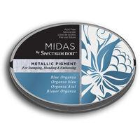 Spectrum Noir Midas Metallic Pigment Inkpad - Blue Organza
